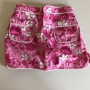 Baby girl floral shorts